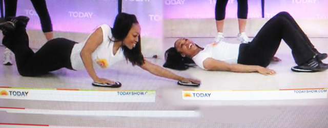 SusieQ FitLife on NBC's The Today Show!