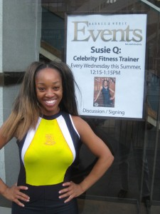 SusieQ FitLife Runs Broadway NYC!