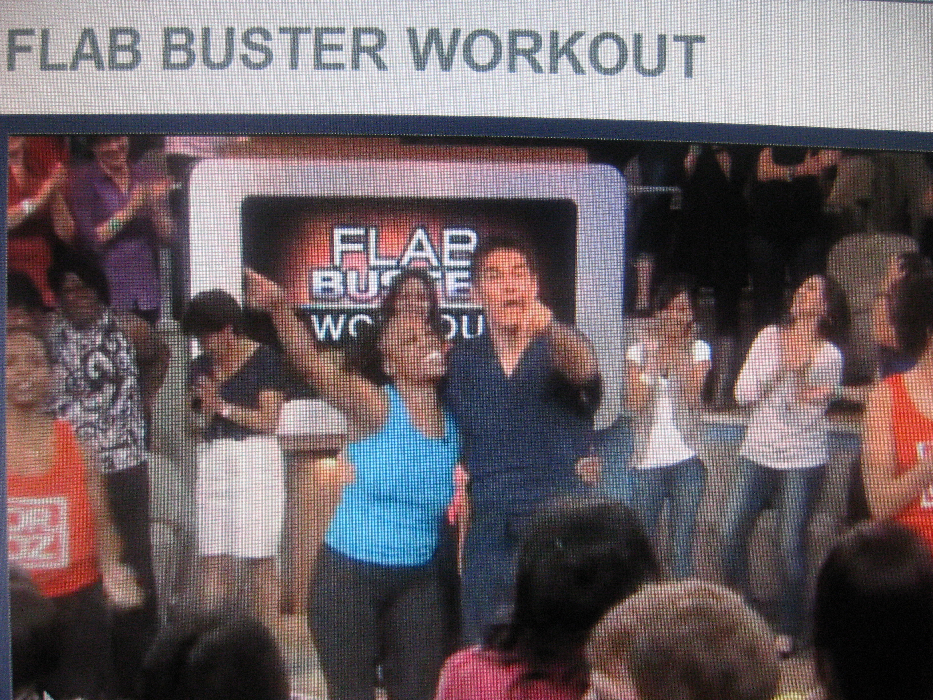 "Dr. Oz & SusieQ ""Ultimate Flab Buster Workout"""