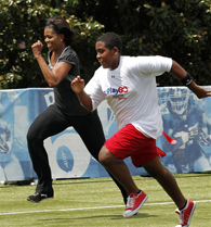 Michelle Obama Moves!