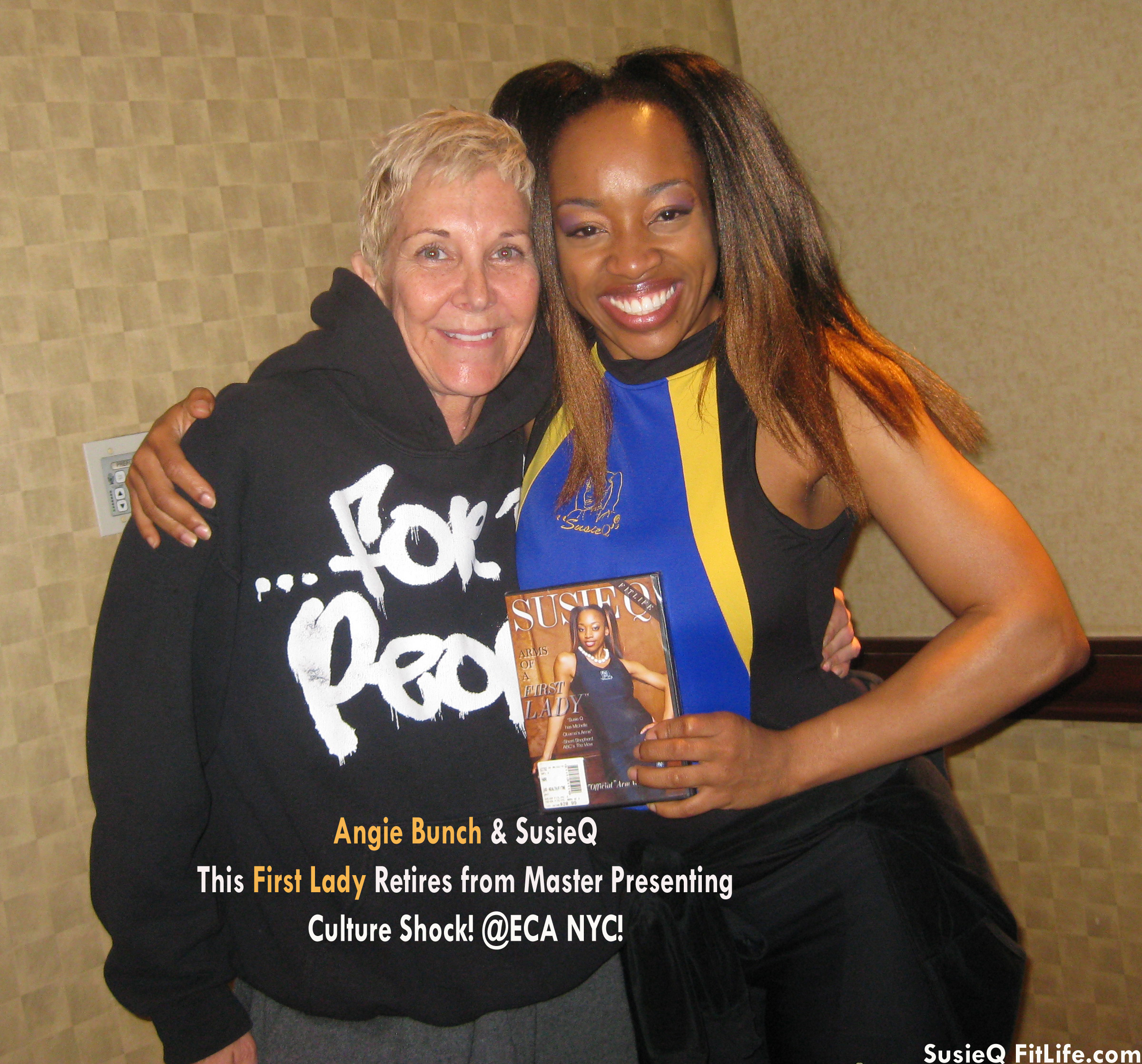 Angie Bunch Culture Shock & SusieQ FitLife! @ECA NYC!