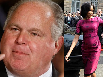 Rush Limbaugh vs. Michelle Obama - SusieQ FitLife