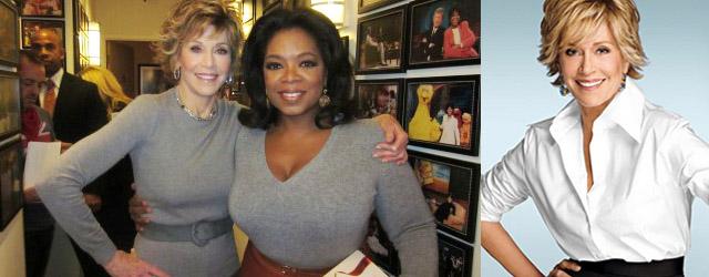 Jane Fonda on Oprah SusieQ FitLife reports