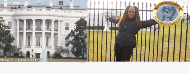 SusieQ FitLife visits The White House with plans to join Michelle Obama's Let's Move Campaign! Who knew Sherri Shepherd from ABC's The View would have sparked off such a tremendous and...