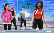 SusieQ Debuts DVD on GMA Health!
