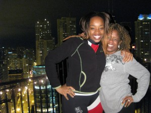 Camille & SusieQ meet on FB: Oprah Night in Chicago!