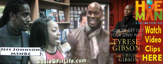 Tyrese Gibson, Jeff Johnson, SusieQ @ Hueman Bookstore -How to Get Out of Your Own Way- Book Release