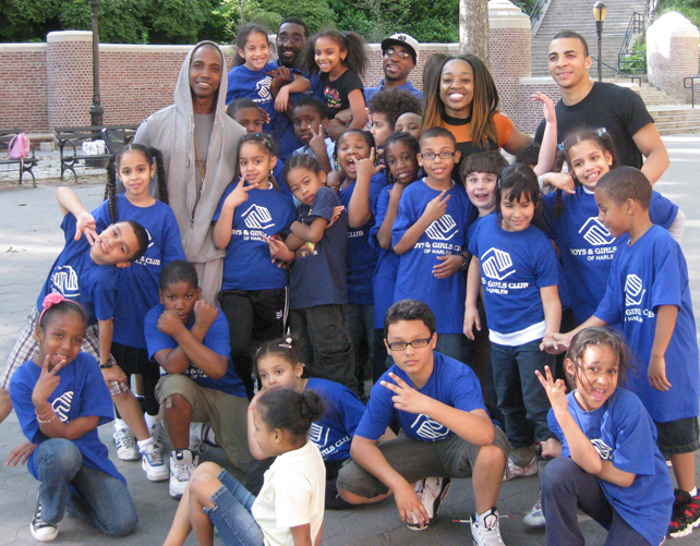Boys & Girls Club of Harlem, The City Gym Boys & SusieQ FitLife!