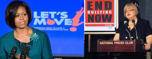 Michelle Obama blamed for Overweight Kids Being Bullied? The National Association to Advance Fat Acceptance held a press conference last week in effort to pass a bill on protecting overweight...