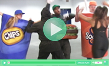 Food Fight Video Leaked!