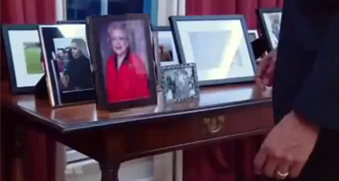 Betty White honored by Barack Obama