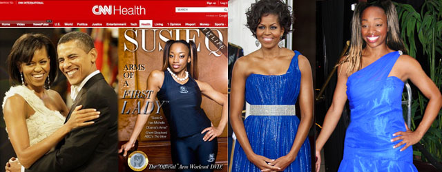 Michelle Obama's Arms of a First Lady DVD by SusieQ FitLife