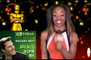 SusieQ FitLife on The Dr Steve Show! Oscars Day!