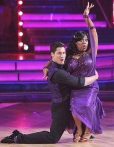 Sherri Shepherd Baby on Dancing with the Stars from SusieQ FitLife