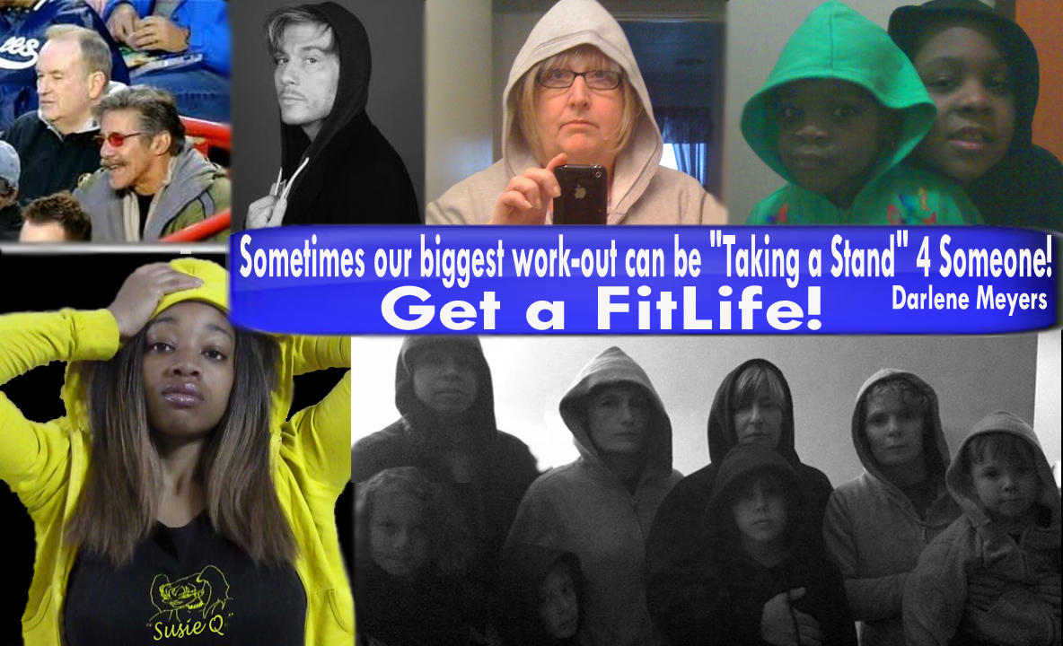 Trayvon Martin Million Hoodie SusieQ FitLife Taking a stand