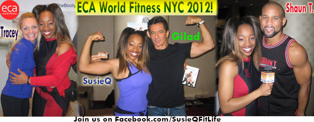 ECA World Fitness Alliance NYC Event with SusieQ FitLife