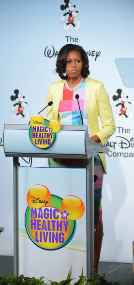 Disney & First Lady Michelle Obama Makes History! SusieQ FitLife