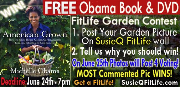 Michelle Obama's American Grown Book & DVD Contest