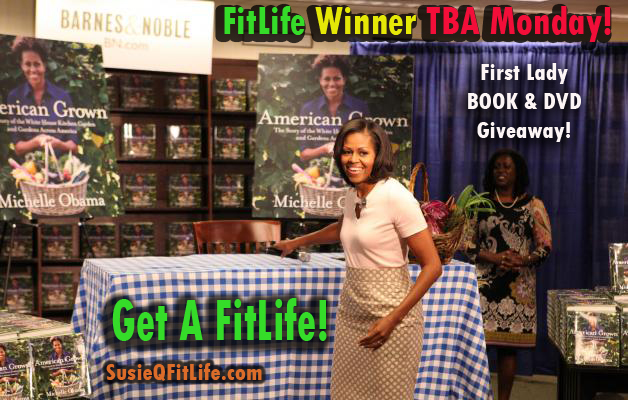 Michelle Obama Book & DVD Giveaway Contest Announcement!
