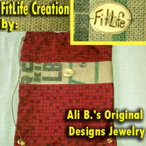 Ali B.'s Original Designs Jewelry for SusieQ FitLife Bag Creation