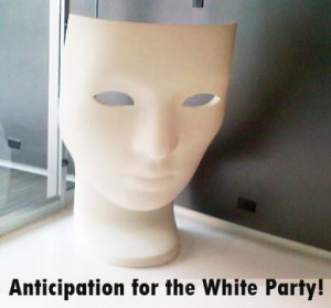 Anticipation for the White Party Affair for Calvin Wiley reported by SusieQ FitLife