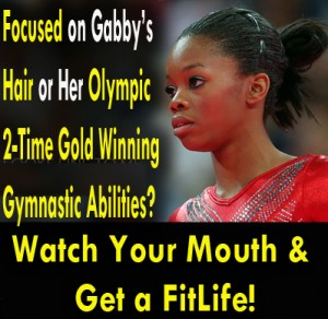 Gabby Douglas Hair Tweeting Blast on SusieQFitLife
