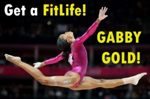 Gabby Douglas wins the GOLD Medal! SusieQ FitLife Reports