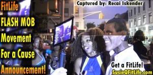 Harlem4Obama & SusieQ FitLife Flash Mob Dance Broadcast Live! Susie Q