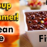 Hot Soup for the Hot Summer Weather! Black Bean Recipe on SusieQ FitLife!
