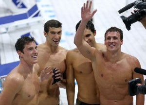 Michael Phelps makes Olympic History with Ryan Lochte on SusieQ FitLife