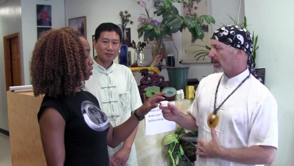 Susie Q Wong, Dr.Qiqing Li & Alexandr Choklin at Healing Treasure Inc.