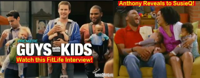 "Hilarious Anthony Anderson FitLife Interview on Diabetes! NBC's newest TV show sitcom star of ""Guys with Kids"" Mr. Anthony Anderson, gives ARMED Celebrity Fitness Trainer, SusieQ a fun and..."