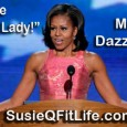 "Beyond the ""Arms of a First Lady!"" Michelle Obama is much more than her incredibly toned arms & dazzling personality! Mrs. Obama stood tall and addressed the Democratic National Convention..."