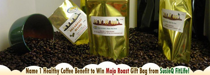 Mojo Roast Products featured on our SusieQ FitLife Family Facebook Page!