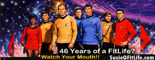 Star Trek Celebrates 46 Years! But, Did They Live a FitLife?! Let's boldly go where many refuse to go! We're delving deeper into the FitLife of the Star Trek TEAM!...