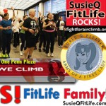 American Lung Association with SusieQ FitLife! Fight for Air! 2013