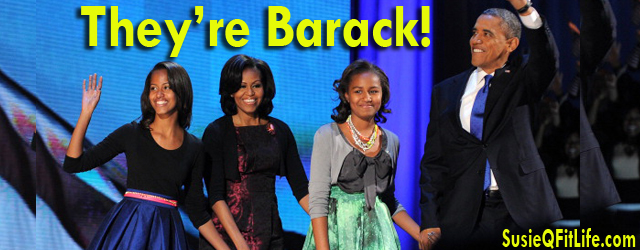 Election Late-Night & Morning in America! President Barack Obama is the winner of the Presidential race for 2013! Accompanied with his beautiful daughters Sasha & Malia; along with our show...