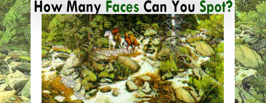 The Forest Has Eyes! Faces Revealed! SusieQ FitLife Solutions!