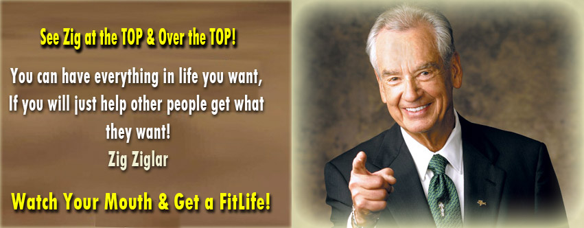 Zig Ziglar will always remain on Top!