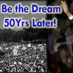 Martin Luther King Jr. The Dream on the Inaugural Obama date!