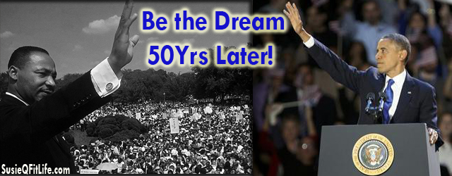 Historic 50-Year Anniversary for Martin Luther King Jr. Day & Obama's 2nd Inauguration! Celebrating the life & legacy of Rev. Martin Luther King Jr. 50 years later today on the...
