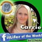 FitLifer of the WEEK on SusieQ FitLife is Carrie