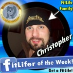 FitLifer of the WEEK on SusieQ FitLife is Christopher