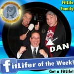 FitLifer of the WEEK on SusieQ FitLife is Dan Bodanis