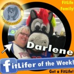FitLifer of the WEEK on SusieQ FitLife is Darlene Meyers