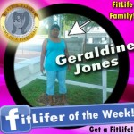 FitLifer of the WEEK on SusieQ FitLife is Geraldine Jones