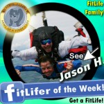 FitLifer of the WEEK on SusieQ FitLife is Jason Hawksworth!