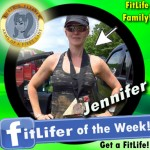 FitLifer of the WEEK on SusieQ FitLife is Jennifer