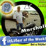 FitLifer of the WEEK on SusieQ FitLife is Marshall