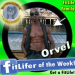 FitLifer of the WEEK on SusieQ FitLife is Orvel Douglas